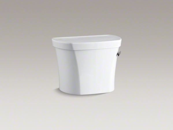 """KOHLER Wellworth(R) 1.28 tank, 14"""" rough-in, right-hand trip with Insuliner(R) t contemporary-toilets"""