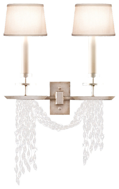 Cascades Sconce, 750450ST transitional-wall-sconces