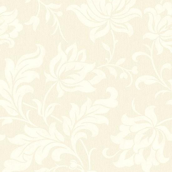 adeline floral pattern wallpaper cream sample