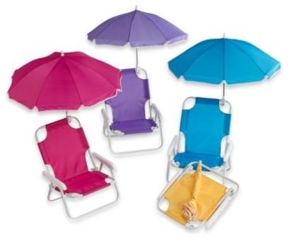 Baby Beach Chair with Umbrella Contemporary Outdoor