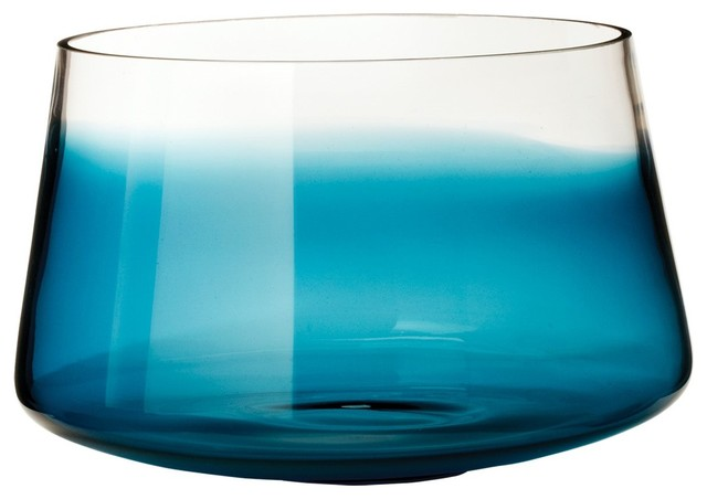 Lazy Susan LZS-464038 Macaw Well Vase - Small contemporary-vases