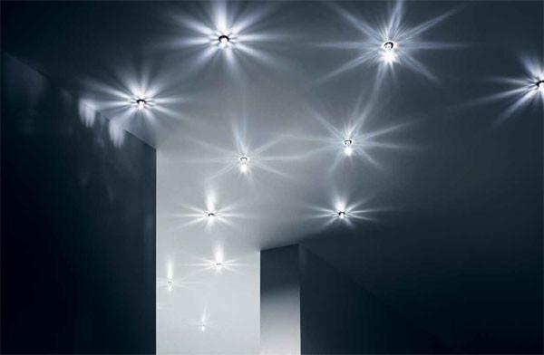 swarovski crystal startled recessed ceiling lights. Black Bedroom Furniture Sets. Home Design Ideas