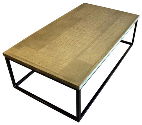James De Wulf Simple Periodic Coffee Table Natural Modern Coffee Tables By 2modern