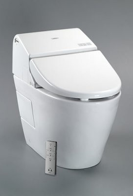 Toto G500 Elongated Toilet modern-toilet-accessories