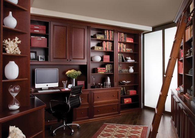 Custom Home Offices - Traditional - Bookcases - other metro - by transFORM   The Art of Custom ...