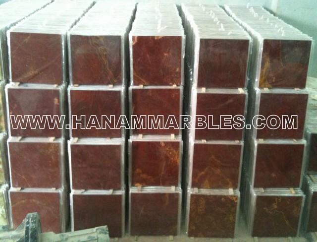 Multi Red Onyx Tiles floor-tiles