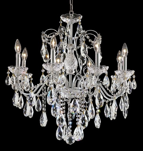 Elegant Lighting 2016D26C/EC Chandelier from the St. francis Collection contemporary-chandeliers