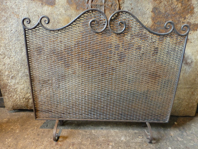 antique fireplace screen traditional fireplace screens