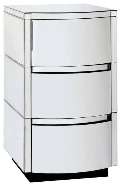 Bungalow 5 Cunard 3-Drawer Side Table modern-side-tables-and-end-tables