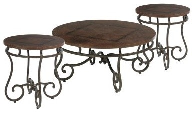 Bernhardt Carmel Occasional Table Set modern coffee tables