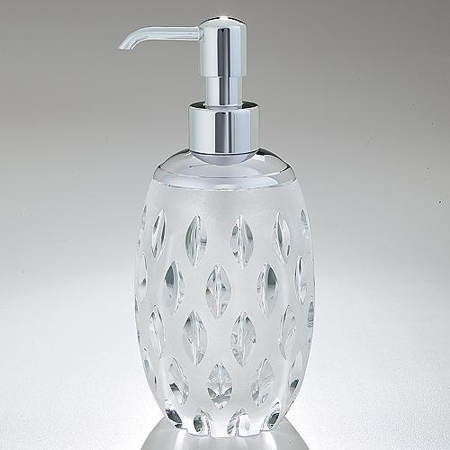 Gabriela Pump Dispenser contemporary-bathroom-accessories