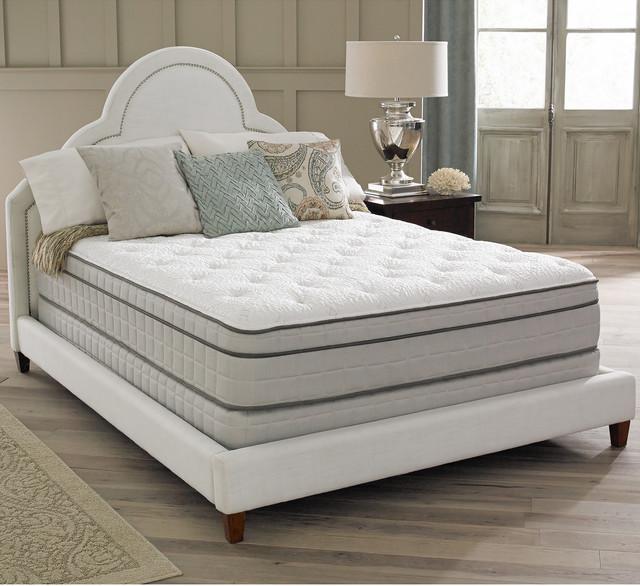 Spring air premium collection antoinette pillow top queen for Spring air mattress