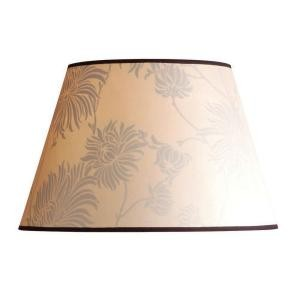floral barrel shade contemporary lamp shades by home depot. Black Bedroom Furniture Sets. Home Design Ideas