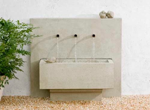 X3 Garden Fountain traditional-outdoor-fountains-and-ponds