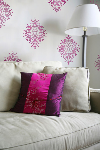 Stencils and Patterns for Painting Walls & Furniture asian accessories and decor