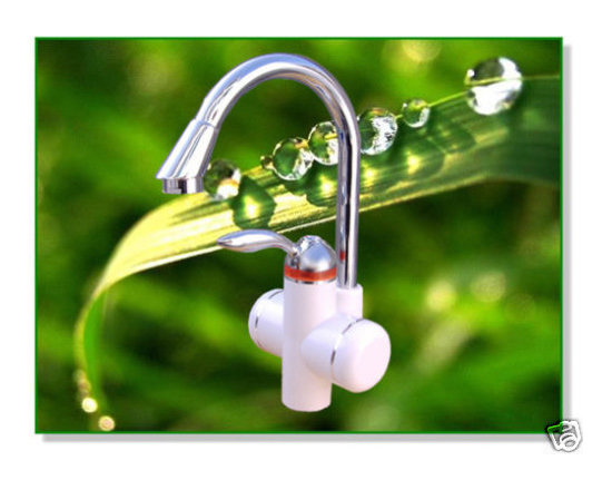 Instant Electric Water Heater Faucet - 1.Save water:General storage-type water heaters waste a lot of water for a longer pipe line,while our products use terminal heating method with no pipe line loss.If it is used 20 times for one day,it will save 50-100L water.