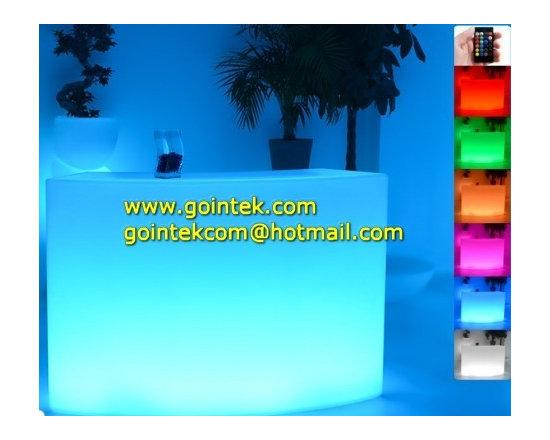 Modern Plastic led Bar Counter -
