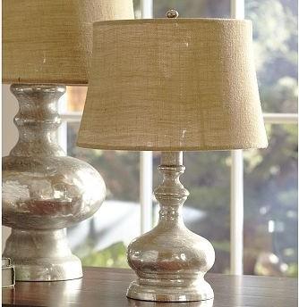 cfl mercury glass bedside lamp base only traditional lamp bases. Black Bedroom Furniture Sets. Home Design Ideas