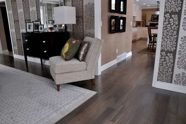 Smoldering Hickory contemporary wood flooring