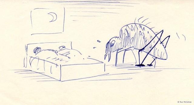 """""""Flea"""" by Paul McGehee contemporary-artwork"""