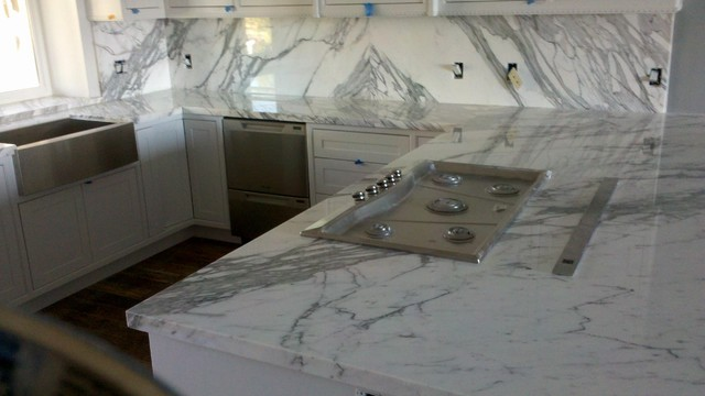 Royal Stone & Tile Slab Yard in Los Angeles traditional-kitchen