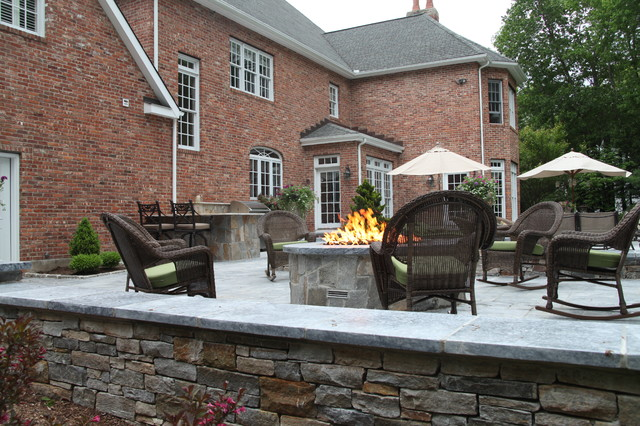 Lakeside Living Transitional Fire Pits Other Metro