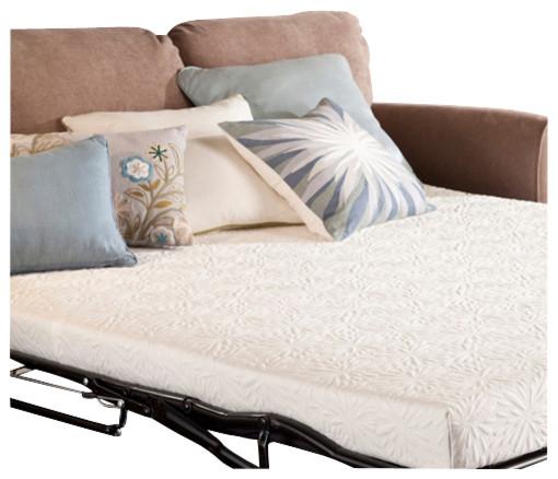 PlushBeds Gel Memory Foam Sofa Bed Mattress Modern