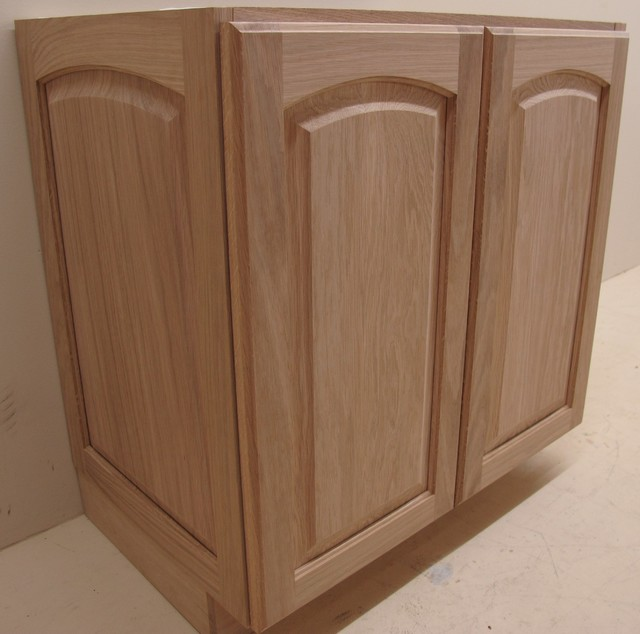 Solid raised panel vanity for Bath remodel little rock ar