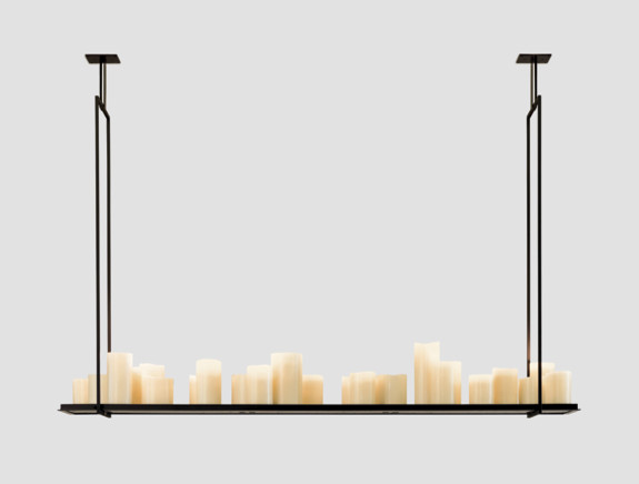 Altar by Kevin Reilly | Holly Hunt modern chandeliers