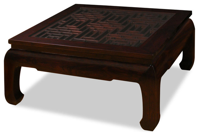 Ming Style Square Coffee Table Asian Coffee Tables By China Furniture And Arts
