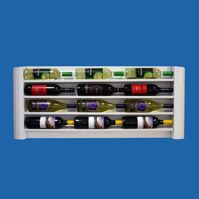 Vertical Picture Frame Wine Racks and WIne Wall modern-storage-and-organization