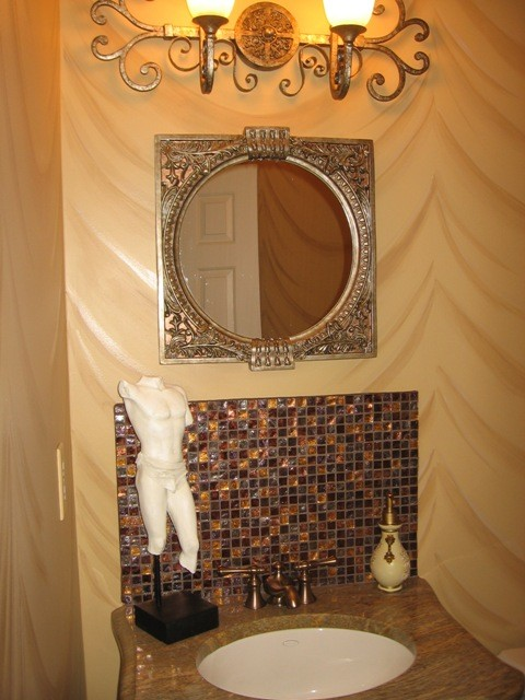 Middelton Project traditional powder room