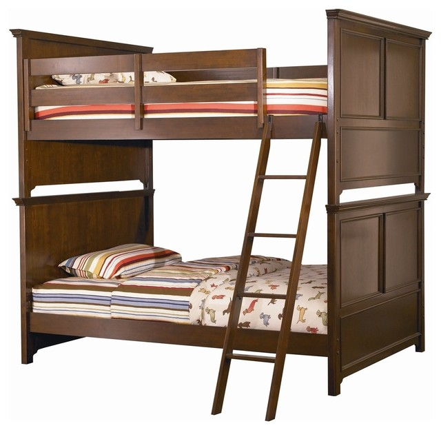 Lea Covington Twin Bunk Bed traditional-beds