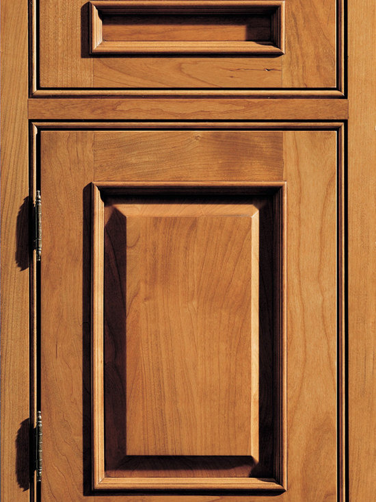"""Dura Supreme Cabinetry - Dura Supreme Cabinetry Chapel Hill Classic Cabinet Door Style - Dura Supreme Cabinetry """"Chapel Hill Classic"""" cabinet door style in Cherry shown with Dura Supreme's """"Butternut"""" with """"Coffee"""" Glaze finish. (With Beaded Frame)"""