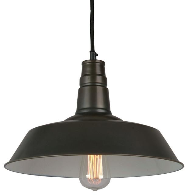 Bromi Design Calvin 1-Light Industrial Pendant
