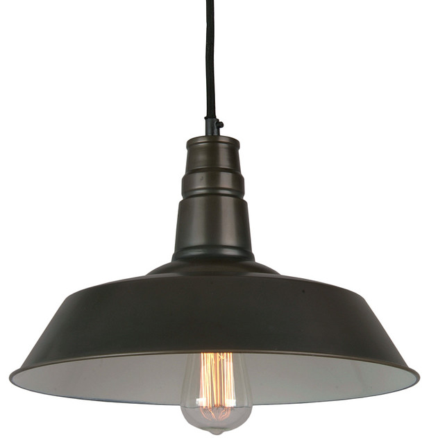 Bromi Design Calvin 1 Light Industrial Pendant Modern