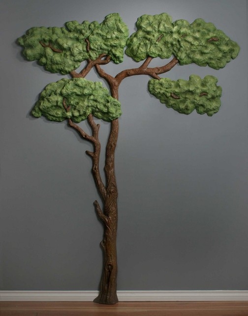 3D wall art Acacia Tree - eclectic - kids decor - vancouver - by