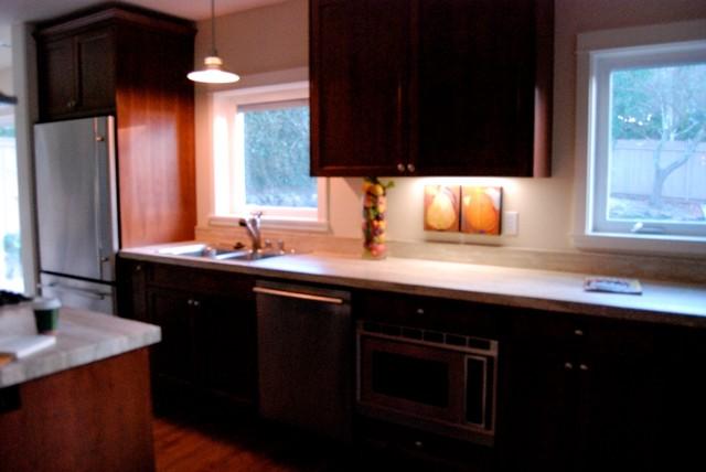 Zen Kitchen Remodel traditional