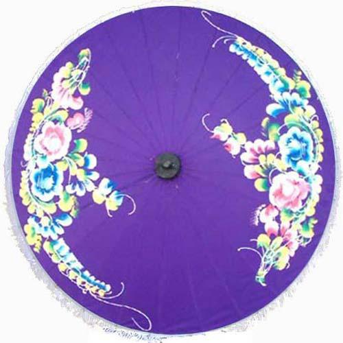 "The Wealth Umbrella, 28"" Diameter asian-home-decor"