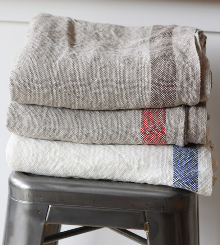 Linen Day Blanket traditional-blankets