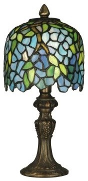 Dale Tiffany Wisteria Accent Lamp modern-table-lamps