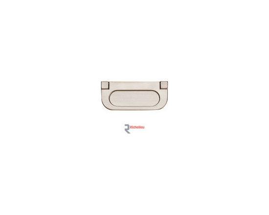 Stylish Recessed Pulls -