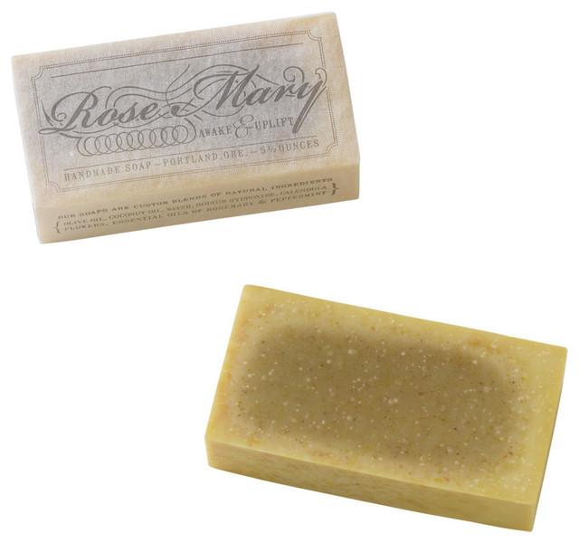 Handmade All-Natural Rosemary Soap contemporary-bathroom-accessories