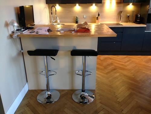 J 39 ai besoin de votre aide pour un coin bar - Fabriquer une table bar de cuisine ...