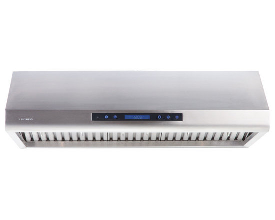 "Cavaliere - Cavaliere AP38-PS63 30"" Under Cabinet Range Hood - Cavaliere Stainless Steel 260W Under Cabinet Range Hood with 4 Speeds, Timer Function, LCD Keypad, Stainless Steel Baffle Filters, and Halogen Lights"
