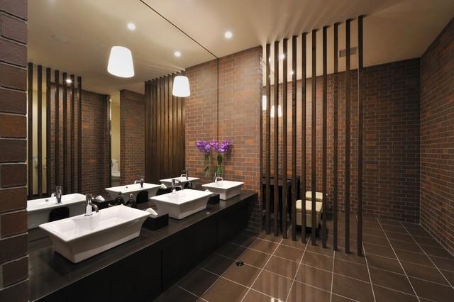 Sendai Bathroom contemporary-bathroom