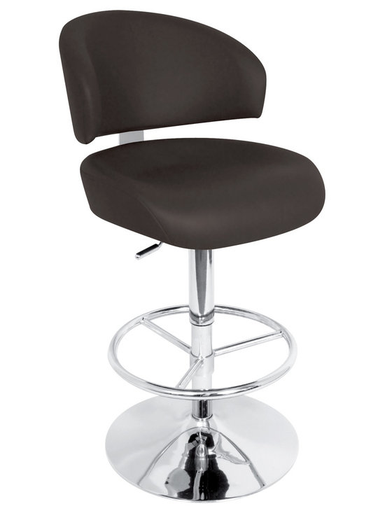 Regent Bar Stool - BLACK