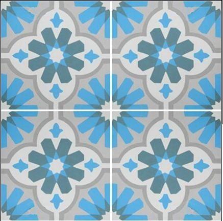 WWW.LUXURYSTYLE.ES - OLD SPANISH STYLE DESIGN FLOOR TILES, DESIGN FLOOR TILES mediterranean