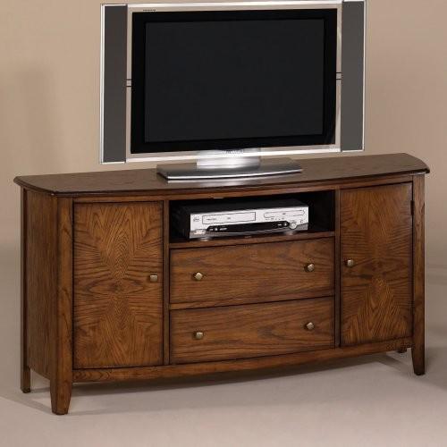 Hammary Primo Warm Medium Brown Entertainment Console traditional-media-storage
