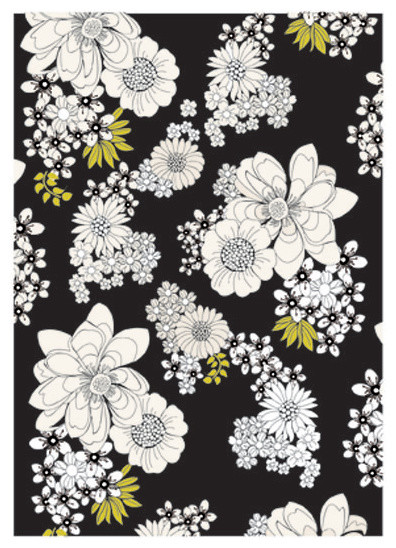 Summer Bloom contemporary-area-rugs